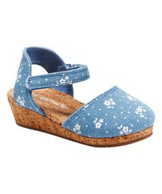 Look what I found on #zulily! Blue Jenna Sandal #zulilyfinds