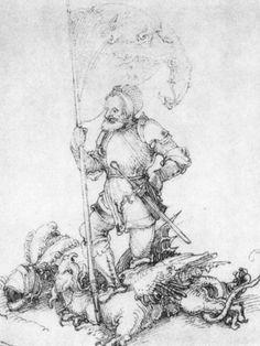 Artist: Schäufelein, Hans Leonhard, Title: Hl. Georg, Date: ca. 1507-1510