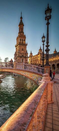 Spain Square, Seville, Spain (by Sören Bartosch) Spain Travel Destinations Places To Travel, Travel Destinations, Places To Visit, Travel Tips, Between Two Worlds, Around The Worlds, Spain Honeymoon, Backpacking Spain, Spain And Portugal