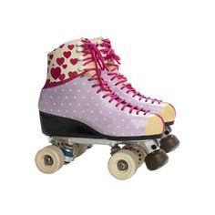 son liinndos los patines de Jasmín tienen