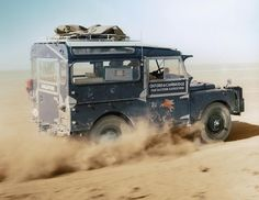 Land Rover Defender/Series — overlandbound: Introducing the #LandRoverClassic...