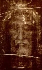 Face of Jesus on the Shroud of Turin  This image fascinates me.  I could stare at it for hours.  And I have.