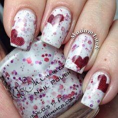 VALENTINE by madamluck #nail #nails #nailart