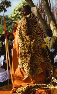 "Africa | The Emir of Katsina at Sallah Ceremony.  1993, Uganda. | ©Carol Beckwith & Angela Fisher. Publication ""African Ceremonies"""