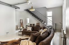 Love the sofas, coffee table & pillows