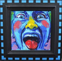 MLADIN VALERIU (n. 1958 ) Vocalã / Vowel Painting, Art, Feral Cats, Stones, Art Background, Painting Art, Kunst, Paintings, Performing Arts
