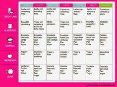 Menú para adelgazar de forma saludable: semana 2