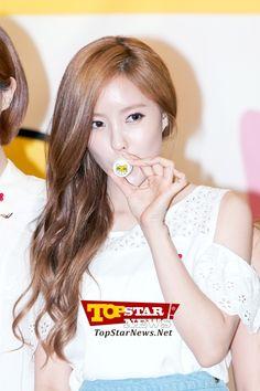 티아라(T-ara) 효민, '또마 캐릭터 너무 귀여워요' …티아라-다비치&사랑의 열매 협약식 현장 [K-POP PHOTO]