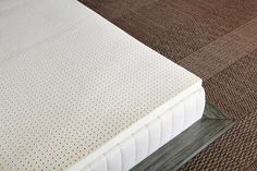 Could divide this king size topper to be center of 2 twin french mattresses, add wool and cotton batts for rest...