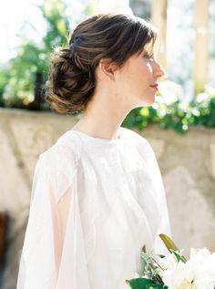 "Photo by: @meiwensphoto  Gown: @veneaistudio ""Quinn""  MUA: @mobilebridalsalon  Florals: @culvercenterflowers Venue: Wayfarers Chapel"