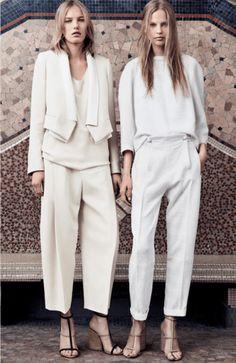 Die schönsten Hosen für die Braut -  Überraschen Sie mit einem modernen Look! Fashion Moda, Look Fashion, Womens Fashion, Fashion Trends, All White Outfit, White Outfits, Looks Style, Style Me, Street Mode