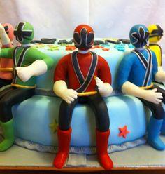 asdcakes: Power Rangers Samurai