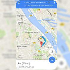 Ze stacji metra Centrum Nauki Kopernik do APDK w mniej niż 10 minut :) From the #CentrumNaukiKopernik subway station to the APDK in less than 10 minutes :) #adwokat #kancelariaadwokacka #lawyer #lawfirm