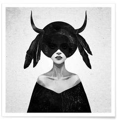 The Mound II als Premium Poster von Ruben Ireland | JUNIQE