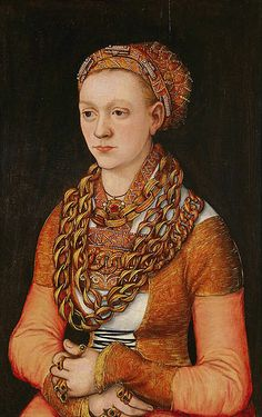 Anna Buchner by Lucas Cranach the Elder, 1518.
