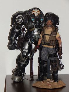 1:6 Starcraft II Jim Raynor (Starcraft) Custom Action Figure