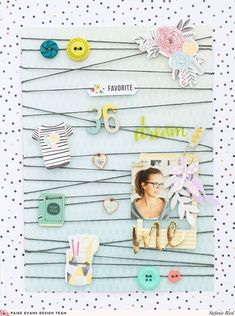 Me Layout by Steffi Reid #scrapbooklayouts #scrapbooking101