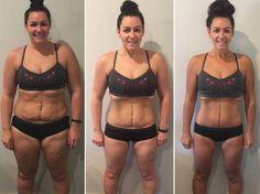 Simone Harbinson hat mit der Meal Prep-Methode 20 Kilo abgenommen!