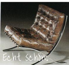 bauhaus m bel klassiker le corbusier sessel lc 3 1928. Black Bedroom Furniture Sets. Home Design Ideas