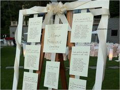 Table Plan Ideas for your wedding in Italy