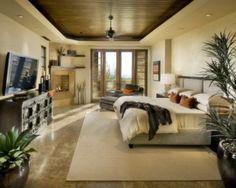Modern Master Bedroom Interior Design - Interior design