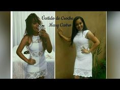 Vestido de Croche Mary Castro /Parte 1 - YouTube