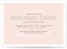 Sophisticate Rehearsal Dinner Invitations