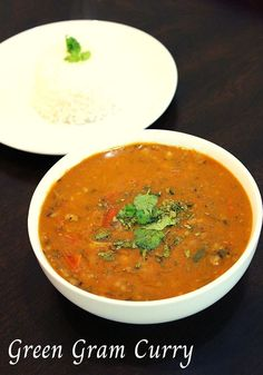 Green moong dal recipe, a green gram curry which is made using sabut moong dal with a curry method which is a very healthy and high protein curry.