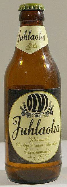 Olvi Juhlaolut bottle by Olvi