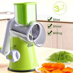 The Super Fast And Easy Way To Make Nutritious Meals Eeryday! #vegetable slicer kitchen gadgets #vegetable chopper produtcs #vegetable grater crafts