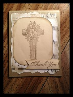 Thank you Card. Religious Christian Thank you by T1DCampCards