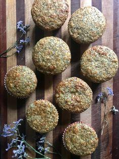 Sugar-Free Lemon Poppyseed Muffins — On The Board Do You Know The Muffin Man, Lemon Poppyseed Muffins, Vanilla Essence, Plain Greek Yogurt, Muffin Cups, Superfoods, Baking Recipes, Baking Soda, Sugar Free