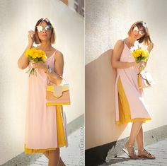Pastel colors outfit - BE INSPIRED for feminine and comfy outfits for hot summer! Girl Fashion, Fashion Show, Runway Fashion, Fashion Dresses, Fashion Looks, Fashion Tips, Korea Fashion, India Fashion, Japan Fashion