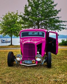 Hotrod Pink ☆ Girly Cars for Female Drivers! Love Pink Cars ♥ It's the dream car for every girl ALL THINGS PINK!