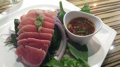 Tuna Ahi Salad at Sushi Yama Boca Raton with Carolyn Boinis Boca Raton Real Estate Agent www.CarolynBoinis.com