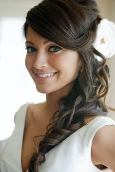 I wish my hair would do this! It would be perfect for the wedding!