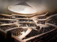 Elbphilharmonie von innen