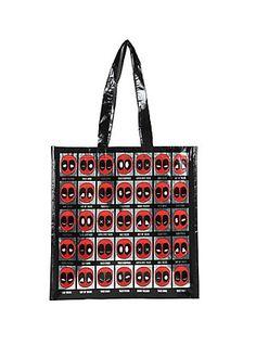 082678e21e1 Marvel Deadpool Mixed Taco Emotions Reusable Tote, Reusable Tote Bags, Big  Bags, Tacos