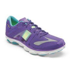 Amazon.com   Brooks Women's PureFlow 4 Electric Purple/Nightlife/Peacoat Sneaker…