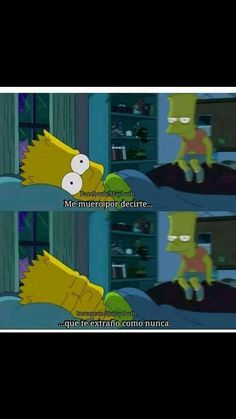 Pero no ay valor😕😂😊❤😪 Simpsons Frases, Ex Amor, Words Can Hurt, Sad Heart, Sad Wallpaper, I Am Sad, Sad Life, Spanish Memes, Sad Day