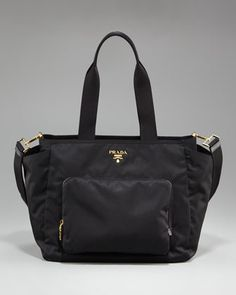 Prada Diaper Bag... $1140. Errr...