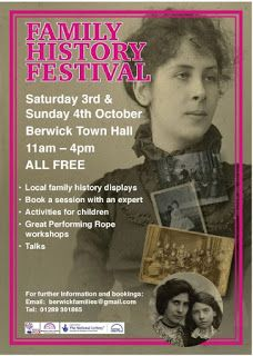 The British GENES blog: Berwick 900 Family History Festival