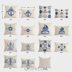 Anchor Nautical Marine Decorative Throw Pillows Decorate for a Sofa Cushion Cover Pillow Cover IKEA Cushions Home Decor Q56-in Cushion Cover from Home & Garden on Aliexpress.com | Alibaba Group