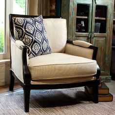 The Bergere armchair is a stunning piece of furniture that is perfect for the autumn and winter seasons that are fast approaching. With it's padded armrests and large seat pad, there's no doubt that you will be cosy and comfortable sat by your fire this winter. Available to purchase from our Online Shop; http://www.snapemaltings.co.uk/shop-online/furniture/chairs/bergere-desk-armchair, or from House and Garden.