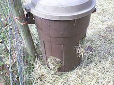 goat hay feeder - Google Search