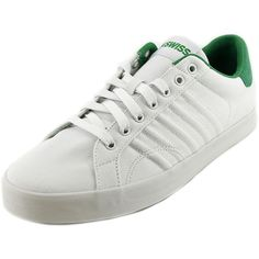 8033d1bba3f6b5 K-Swiss Men s Belmont T Fashion Sneaker  The K-Swiss Belmont T Low Athletic  feature a Canvas upper with a Round Toe. The Man-Made outsole lends lasting  ...