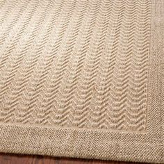 Features:  -Technique: Power Loomed.  -Material: Sisal and Jute.  -Origin: India.  Technique: -Flat woven.  Primary Color: -Sand.  Material: -Jute/Sisal.  Product Care: -Vacuum and spot clean as neede