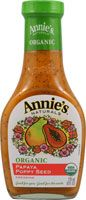 Annies Naturals Organic Dressing Papaya Poppy Seed #roomandboard, #yolocolorhouse and #annies