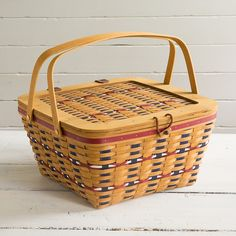 """Longaberger LIMITED EDITION - available """"while supplies last"""" for Collector's Club Members ONLY --- JOIN the Club - need more information - contact me at: basketbiz33@hotmail.com or visit my website @ www.longaberger.com/pamelagoldhammer"""