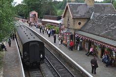 Severn Valley Railway in Bewdley via HenHouseHomemade